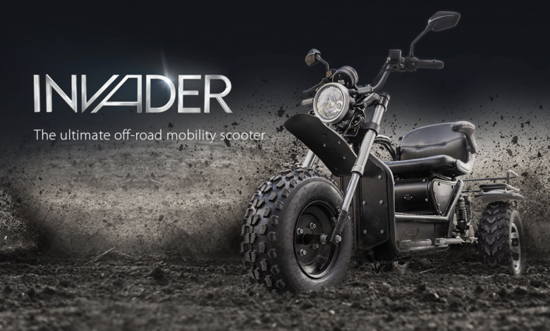 Photo of Scooterpac's Latest Triumph, Invader – The New Off Roader